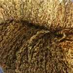 Hand-dyed 100% Silk Bouclé - Tiger's Eye