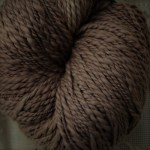 100% Hand-Dyed Organic Cotton - Standard Chestnut