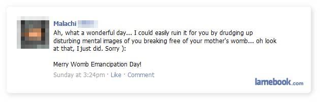 lamebook funny facebook statuses