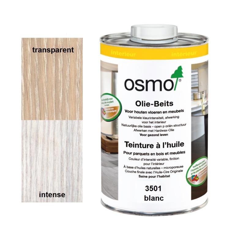 blanche teinture a l huile osmo 3501 1l