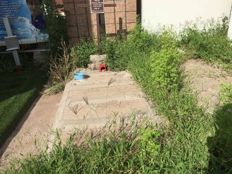 Algunas tumbas duran años abandonadas
