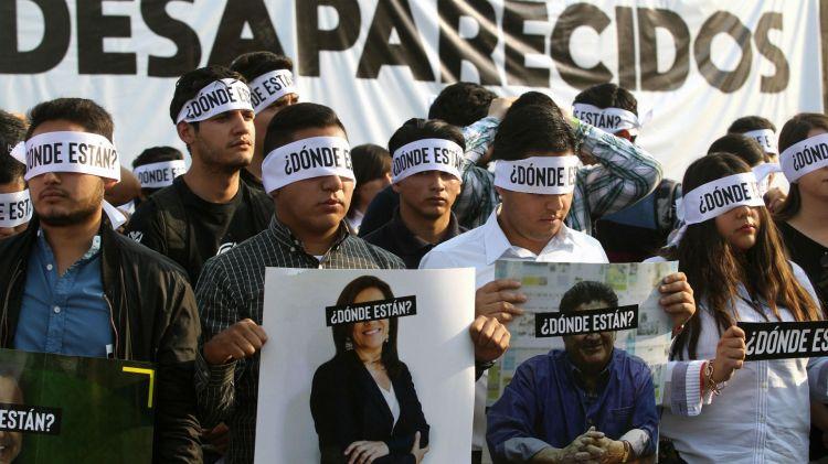 El gobierno desconoce las causas de la desaparición de miles de personas (AFP)