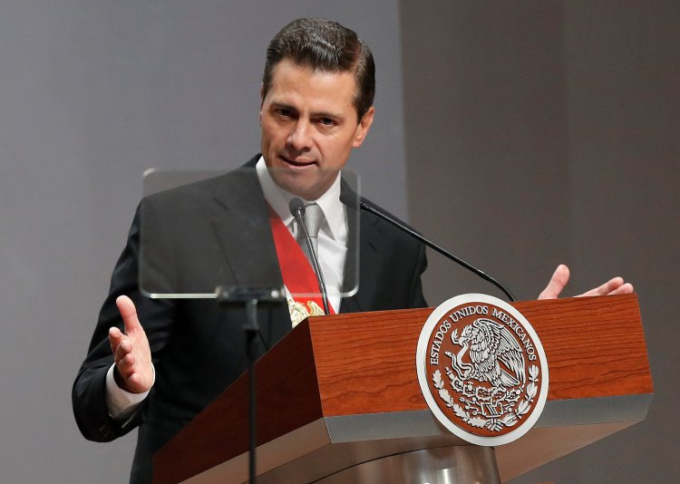 Peña Nietoestá a nueve días de finalizar su mandato (Foto: REUTERS/Carlos Jasso)