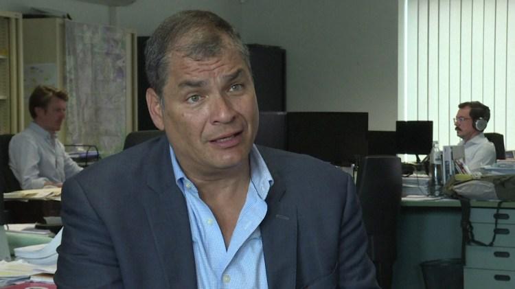 Rafael Correa, ex presidente de Ecuador (AFP)