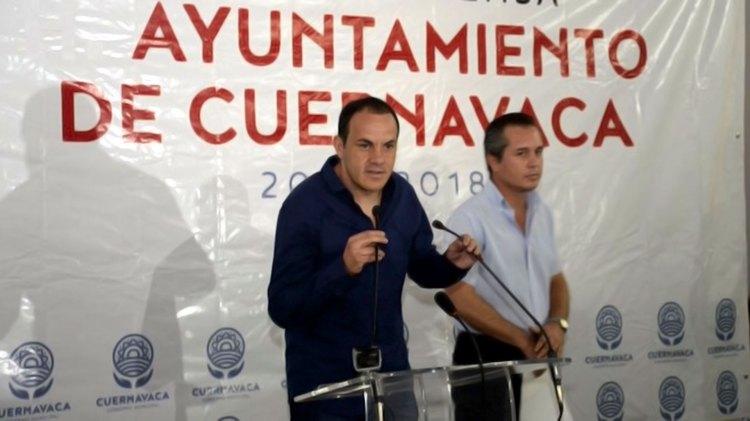 Cuauhtémoc Blanco fue alcalde del municipio de Cuernavaca de 2015 a 2018 (Foto: Ayuntamiento de Cuernavaca)