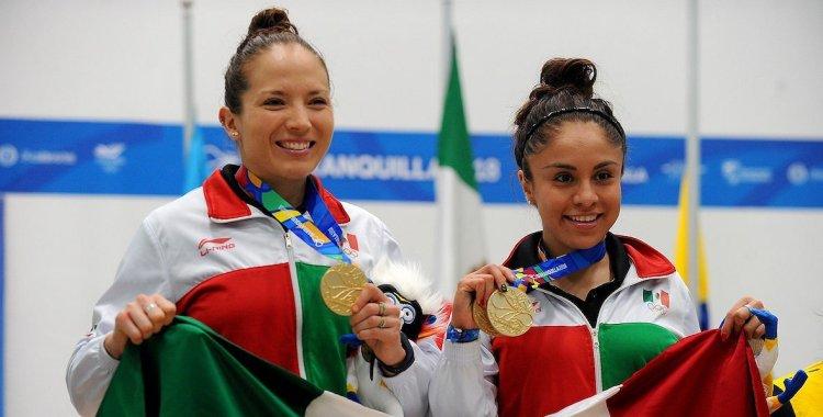 La potosina ganó tres medallas de oro en los Juegos Panamericanos 2018 (Foto: AFP)