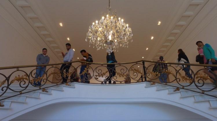 Los ciudadanos pudieron acceder a las casas de los ex presidentes Foto: Juan Vicente Manrique