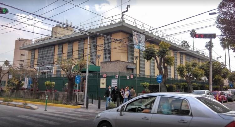 La sede diplomática fue objeto de un ataque el viernes (Foto: Especial)