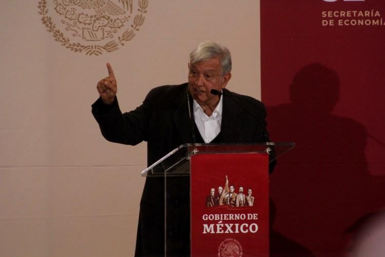 El presidente Andrés Manuel López Obrador acudió a Ciudad Juárez para presentar pormenores de la Zona Libre (FOTO: NACHO RUÍZ /CUARTOSCURO.COM)