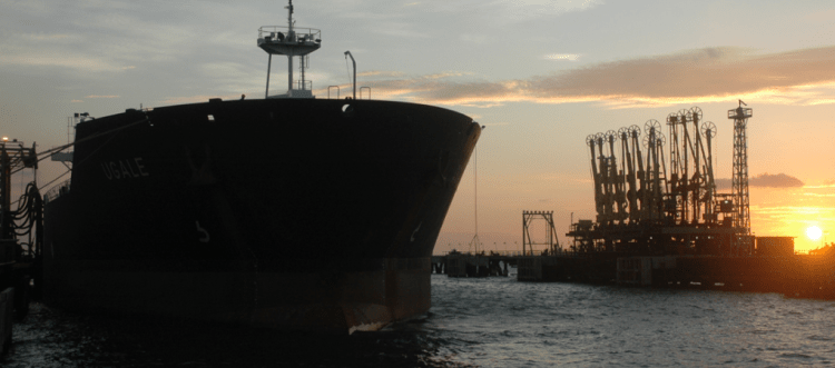 El buque Sandino arribó a México el pasado miércoles (Foto: PDVSA)