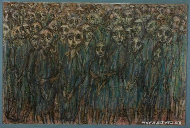 Prima della selezione (Halina Olomucka) - Auschwitz