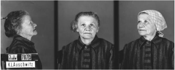 Prigioniera di Auschwitz, sguardo privo di speranza...