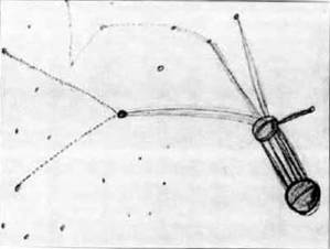Mapa Dibujado por Betty Hill Bajo Hipnosis.