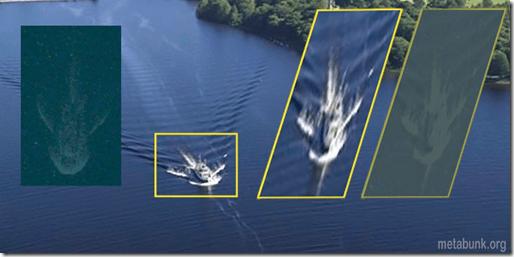 """Noticia: La nueva aparición de """"Nessie"""" es en realidad... un barco 2"""