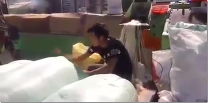 arroz plastico
