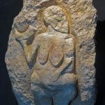 Venus de Laussel. 25.000 años aprox. Musée d'Aquintanie. Burdeos