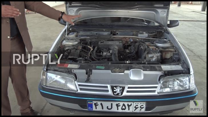 Un hombre crea un motor de auto que funciona con agua…¡en Irán!