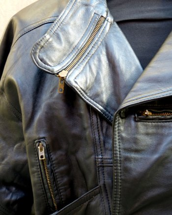 1980s Men Leather Jacket