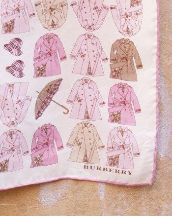 Pañuelo de Burberry con Estampado de Gabardinas