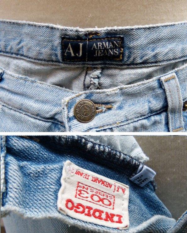 Vaquero Armani Jeans 003 Indigo Serie