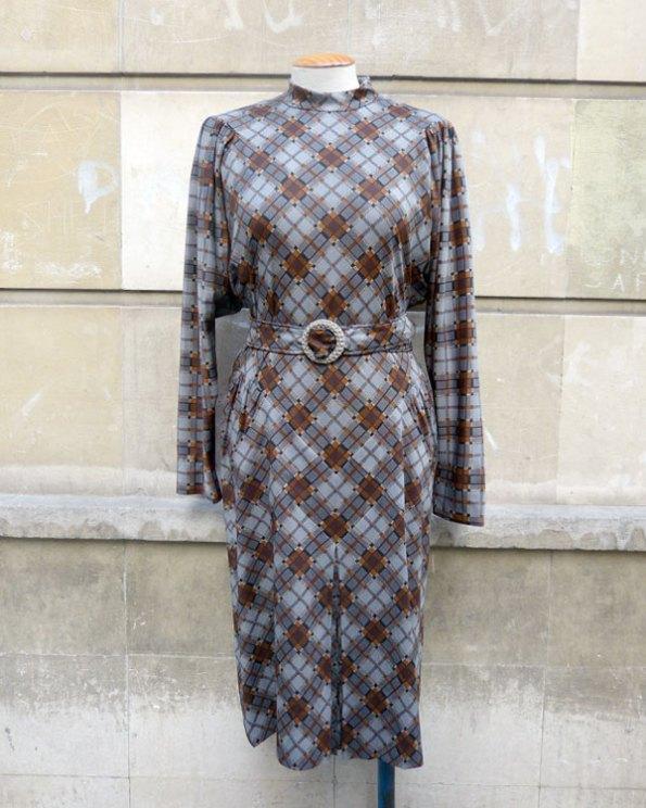 Vestido de Pertegaz de los años 70