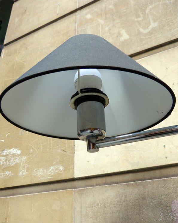 Lámpara de pie 80's ajustable en altura