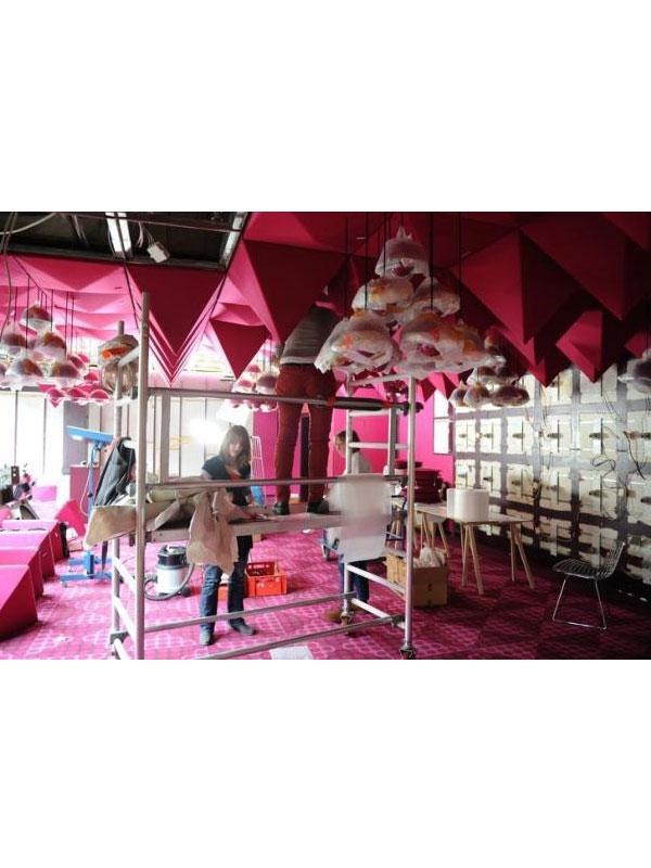 Spiegel Publishing House por Verner Panton