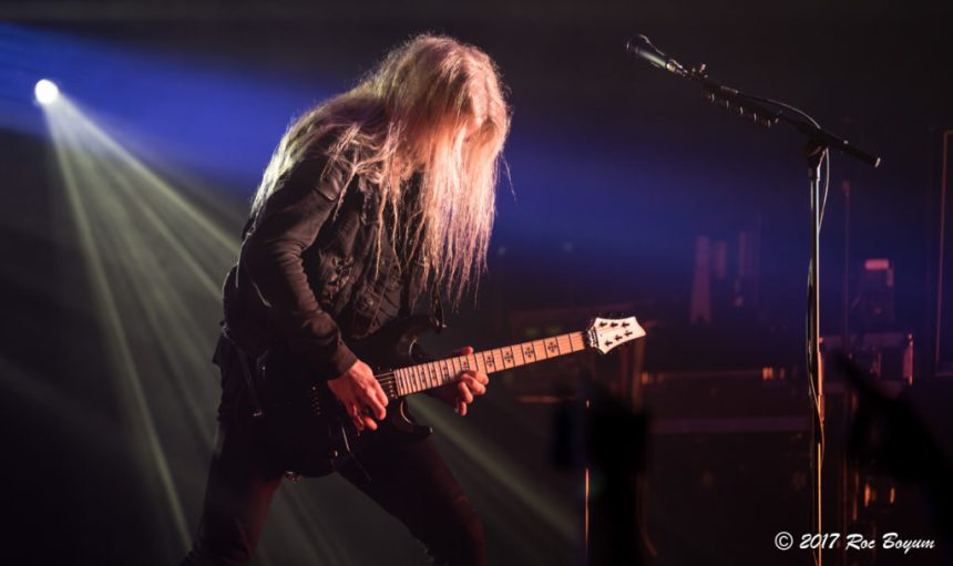 Arch Enemy Wiltern Theater Los Angeles