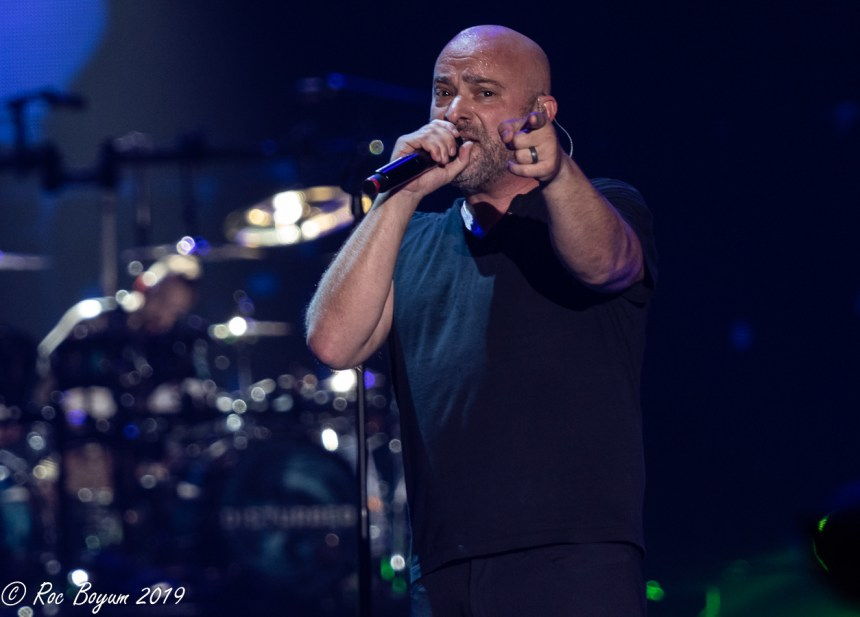 Disturbed David Draiman Los Angeles Forum Concert Photography Concert Reveiws