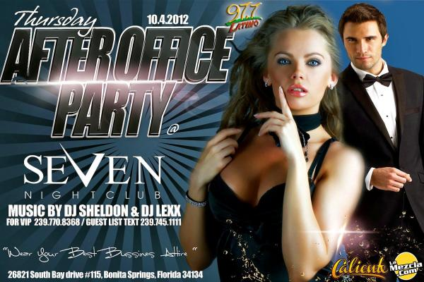 After Office Party at Seven Nightclub
