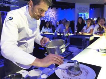 Andrea Berton, il riso nel coppapasta
