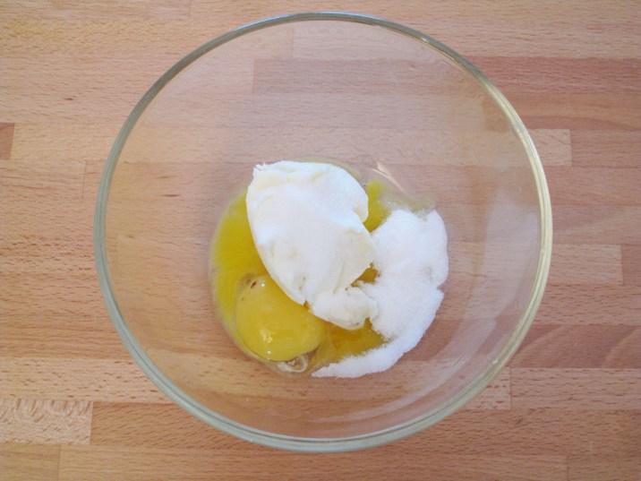 Crostata allo yogurt: l'impasto