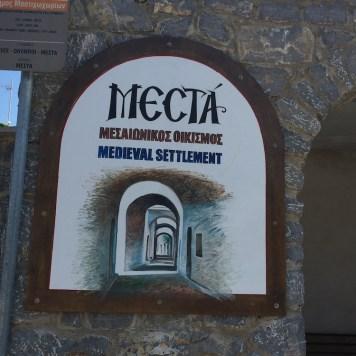 Chios, Mestà
