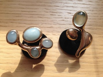 Natsuko Toyofuku, anelli con pietre dure