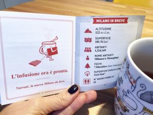 Narratè: la guida della città in una tazza da tè