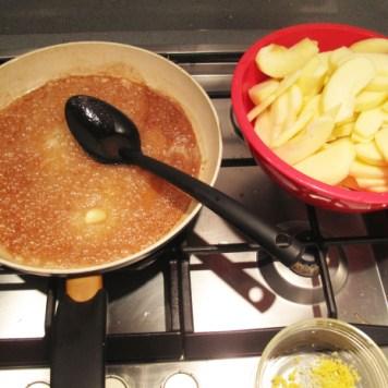 Slurp! La torta di mele, preparazione
