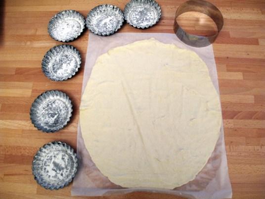 Tortini di gamberi e capesante