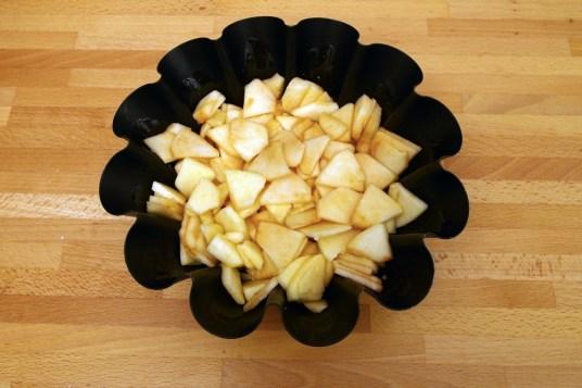 Budino di mele e amaretti