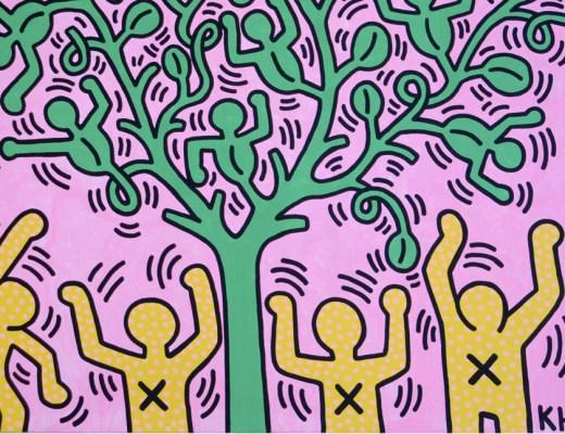 la mostra di Keith Haring a Milano