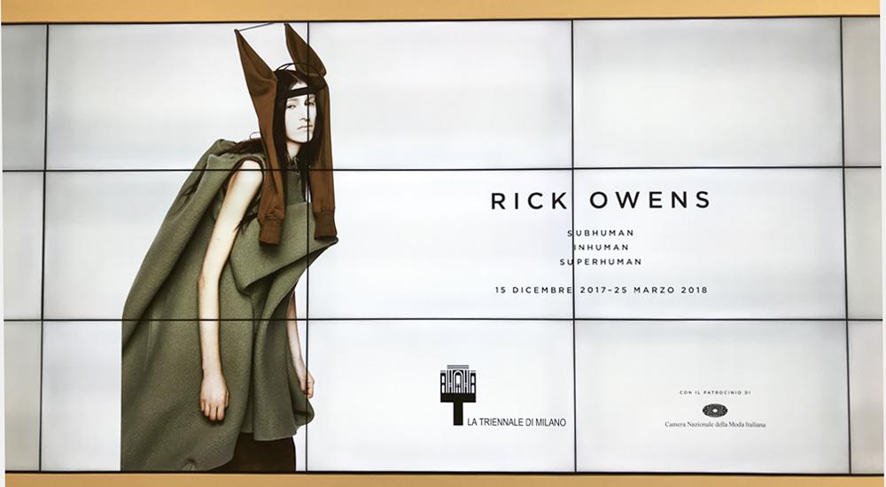 La mostra di Rick Owens