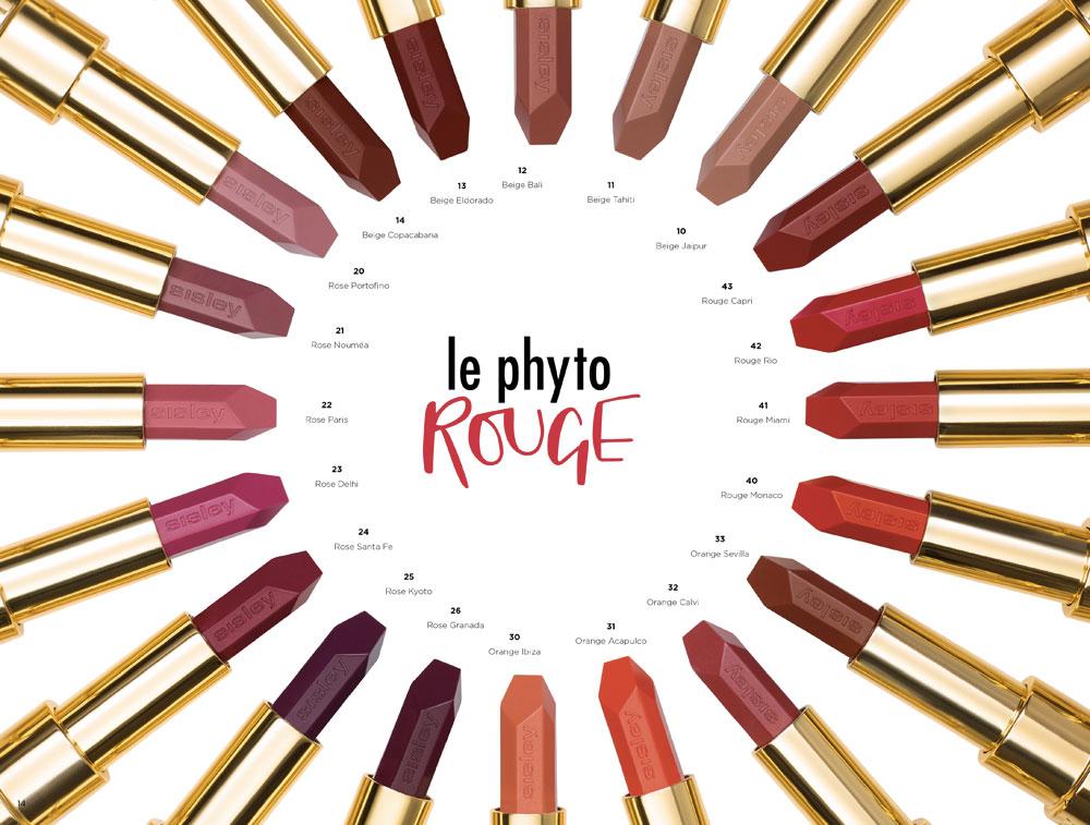 Le Phyto Rouge di Sisley