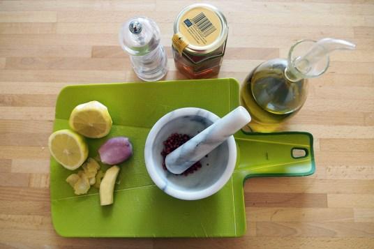 Pollo al miele limone e zenzero