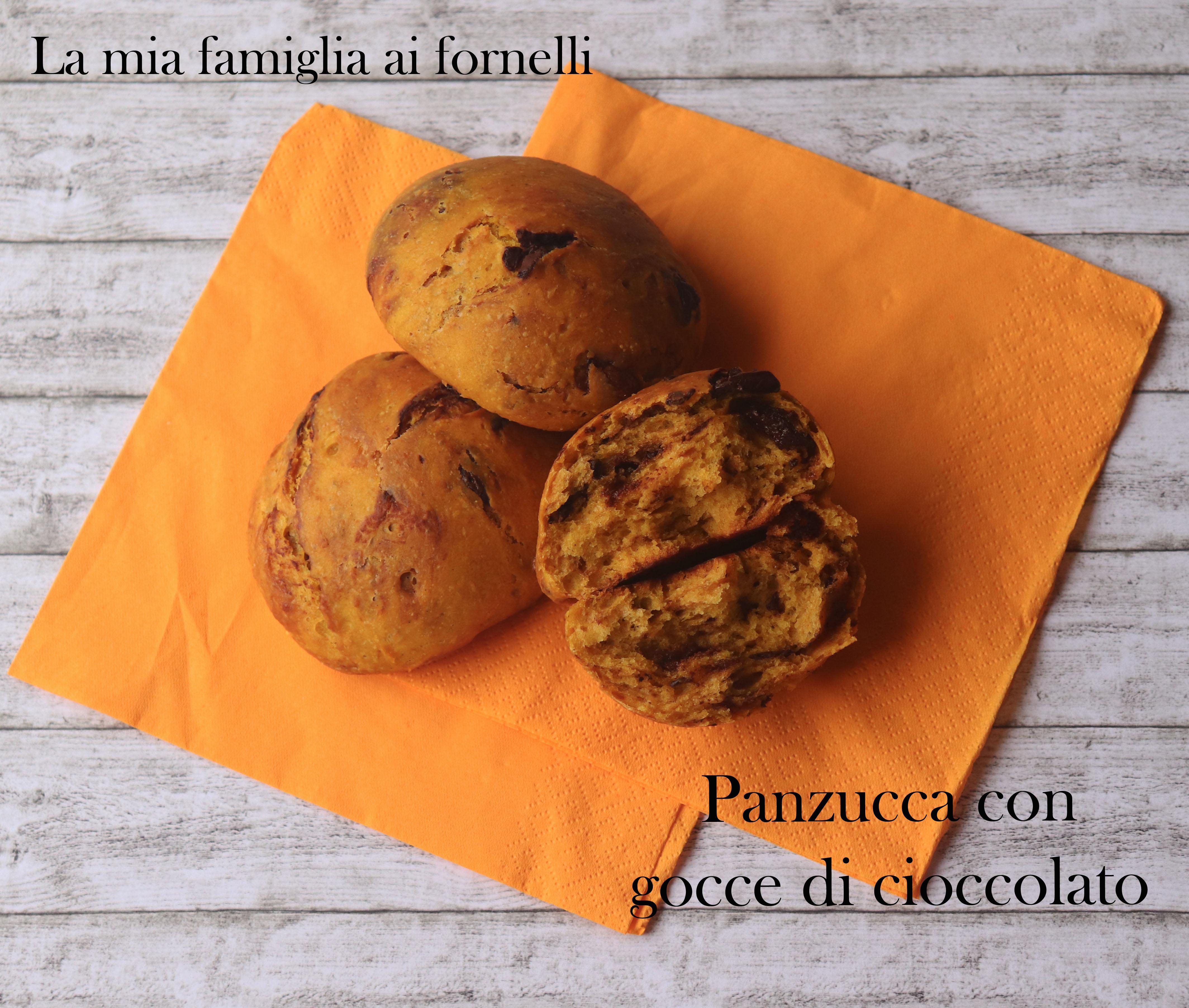 Panzucca con gocce di cioccolato
