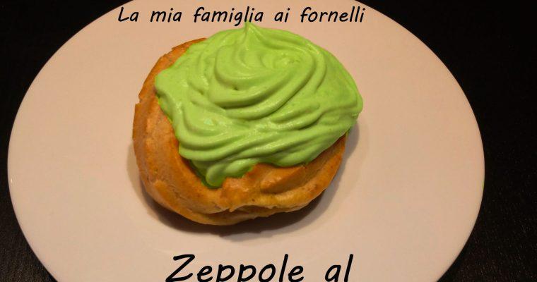 Zeppole al pistacchio