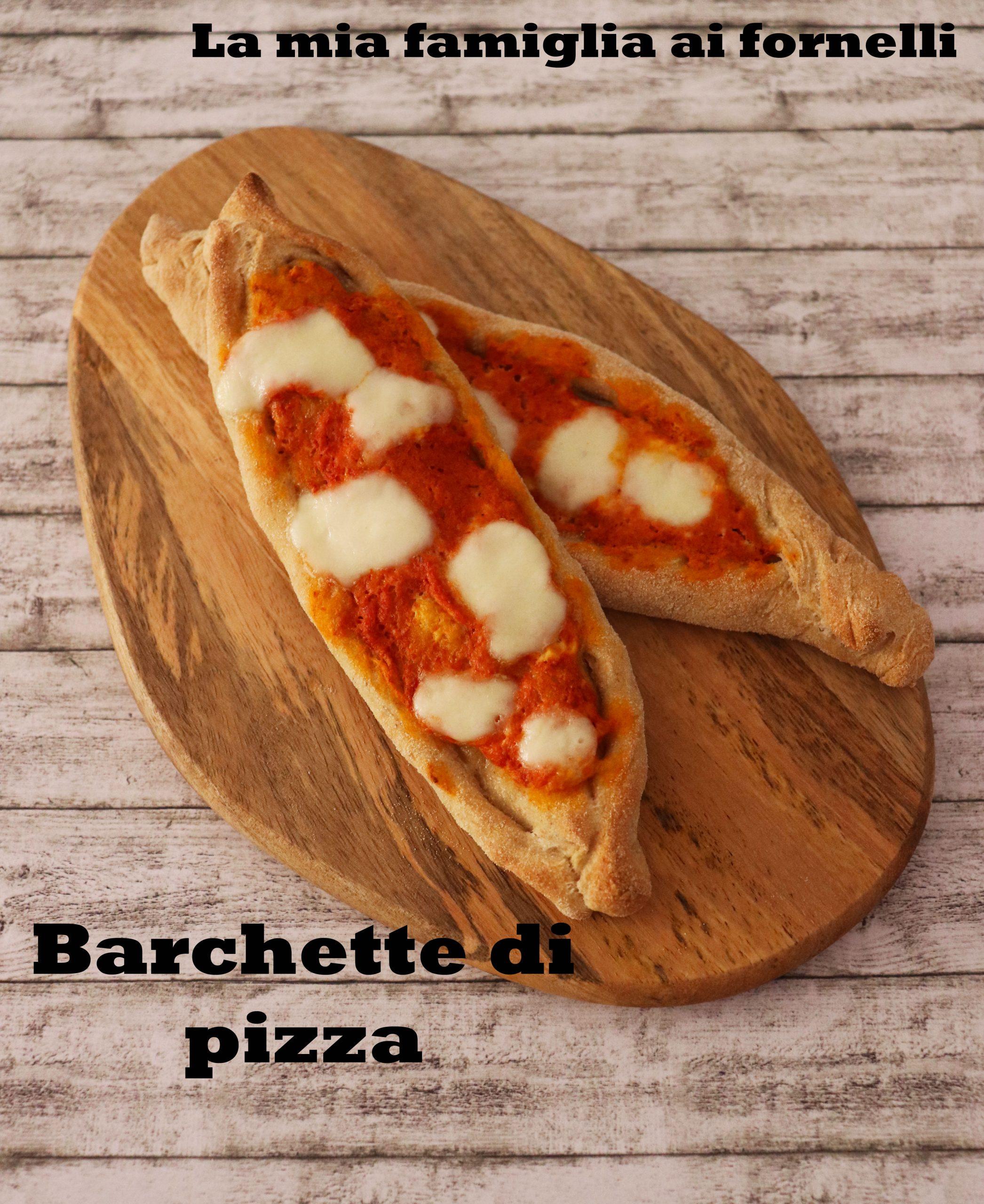 Barchette di pizza