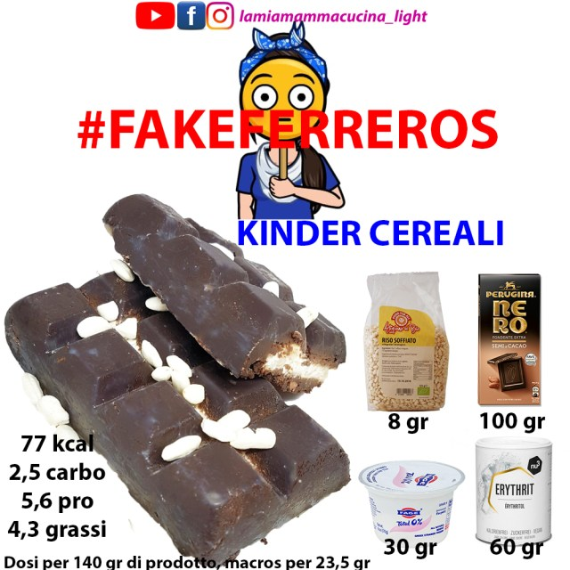 fakeferreros: KINDER CEREALI