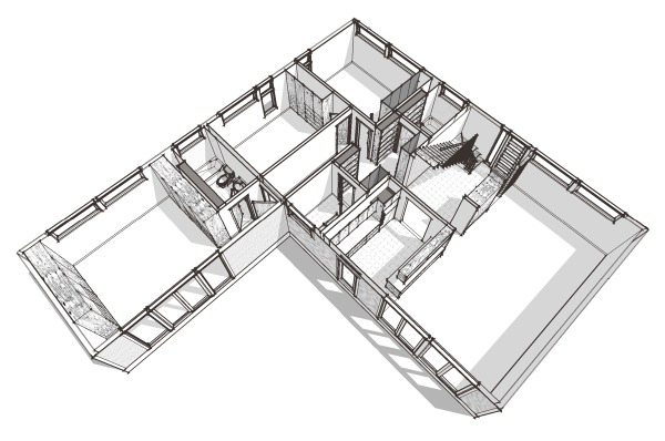 Modern House Plans By Gregory La Vardera Architect Introducing A