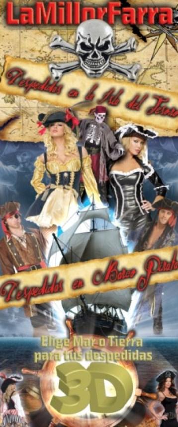 Barco Pirata e Isla Del Tesoro
