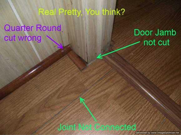 How To Put Laminate Flooring Under Door | Floor Roma