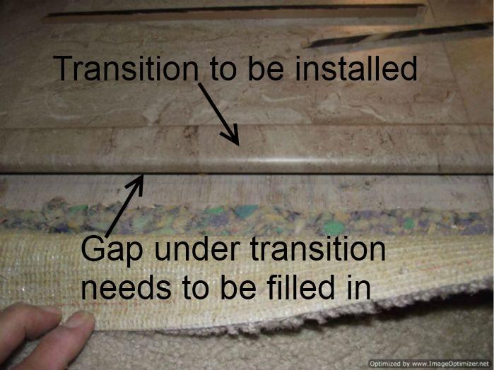 install laminate flooring over ceramic tile